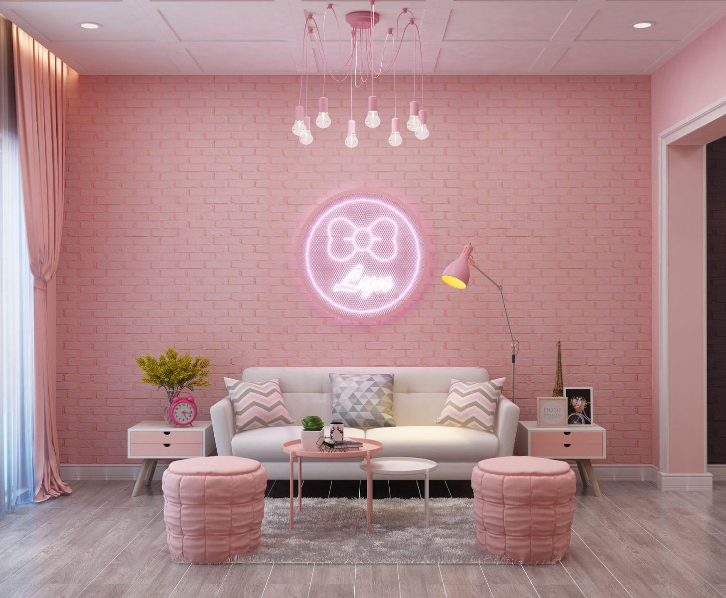 Ý tưởng trang trí nội thất tiệm Makeup Vũng tàu