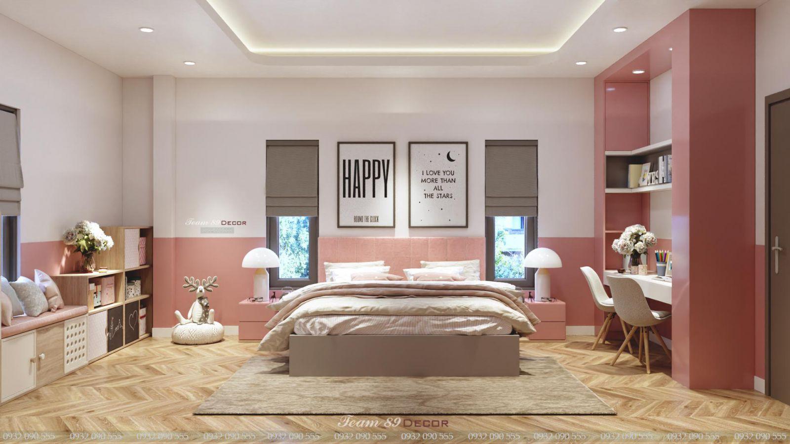 Phòng ngủ Nội Thất Biệt Thự